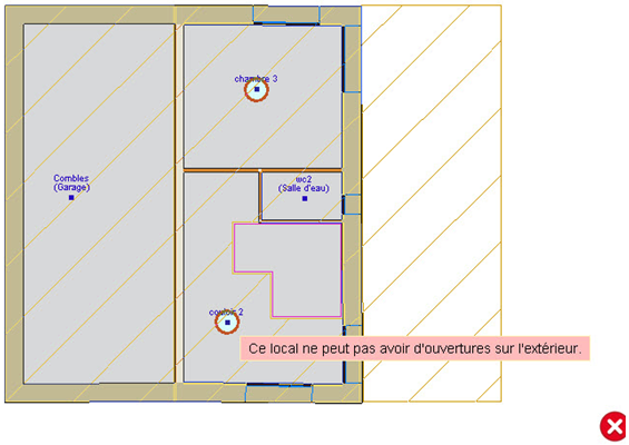 comment fermer un local ouvert sur l ext rieur quand il y a un vide de construction entre les. Black Bedroom Furniture Sets. Home Design Ideas